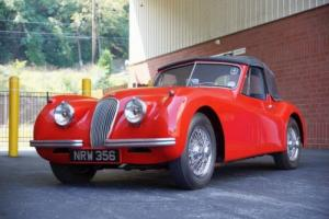 JAGUAR XK120 DHC SE 1954 SUPERB  RIGHT HAND DRIVE Photo