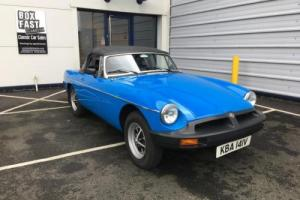 1980 MGB Roadster - Depsoit Taken Photo