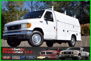2005 Ford E-Series Van Enclosed Utility Van