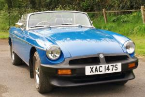 MGB Roadster Manual Overdrive 1978 - A very nice example at a great price