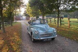 MORRIS MINOR CONVERTABLE part ex?
