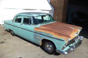 PLYMOUTH BELVEDERE POWERFLITE AUTO V8 SEDAN (1955) AMAZING PATINA SOLID ORIGINAL Photo