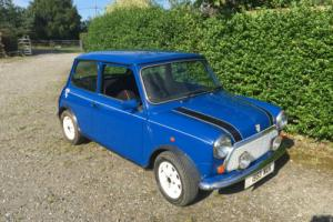ROVER MINI 1300 ITALIAN JOB BLUE 1993  ORIGINALSPEC EXCELLENT COND 35,000 Mls