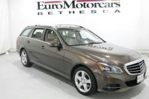 2014 Mercedes-Benz E-Class 4dr Wagon E350 Luxury 4MATIC
