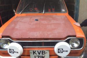 mk1 escort 2 door barn find , project Photo
