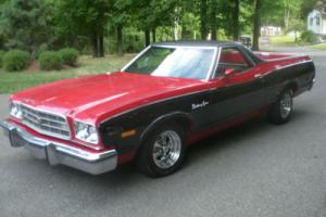 1973 Ford Ranchero squire Photo