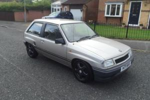 1991 VAUXHAL NOVA 20k FROM NEW STUNNING CONDITION Photo