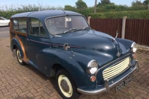 MORRIS MINOR 1000 TRAVELLER MOT until April 2017
