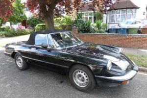 Alfa Romeo Black Spider 1987 2.0L Petrol Injected Engine Photo
