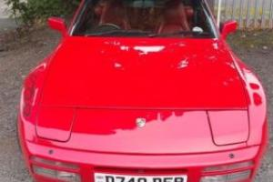 Porsche 944 Turbo in guards red with red leather interior (951)