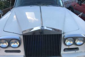 ROLLS ROYCE SILVER SHADOW UNFINISHED PROJECT