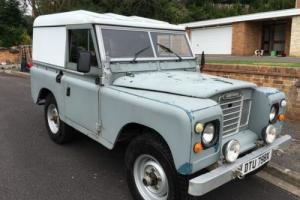 1981 Series 3 Land Rover 2.3 diesel GALVANISED CHASSIS, OVERDRIVE + EXTRAS