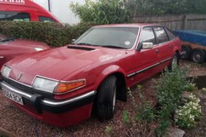 1985 ROVER 3500 VITESSE RED for Sale