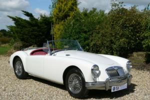 1959 MGA MK I 1500 Roadster. Heritage Certificate. Left Hand Drive