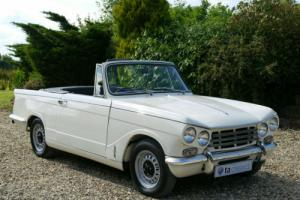 1971 Triumph Vitesse Convertible MK II Only1 Owner From New Heritage Certificate for Sale