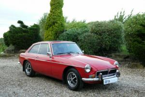 1973 MGB GT Lots of Money Spent Only 7,000 Miles on New Engine. Manual Overdrive