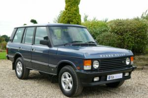 1988 Range Rover Classic 3.9 Vogue EFi Automatic. Last Owner For 19 Years.