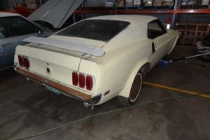 1969 FORD MUSTANG GENUINE MACH 1 FAST BACK - SPORTS ROOF - NO RESERVE