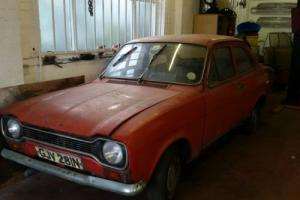 MK1 FORD ESCORT 2 DOOR GARAGE FIND FOR RESTORATION Photo