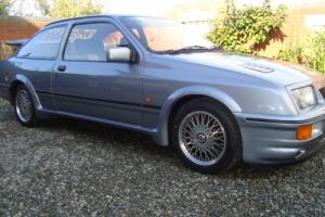ford sierra 3 door cosworth moonstone blue 46683 miles E reg