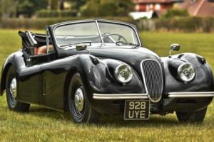 1953 Jaguar XK120 Drop Head Coupe, Left Hand Drive.