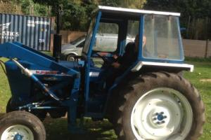 ford 4000 tractor with cab and front loader