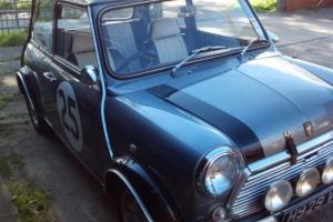 1990 ROVER MINI CAR STUDIO 2 GREY [COOPER S] CLASSIC 1000CC 12 MONTHS MOT Photo