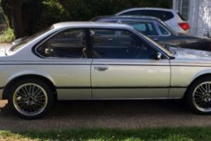 BMW635CSi in Dry storage 16 years Superb early low milage car Photo