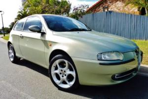 2002 ALFA ROMEO 147 TWIN SPARK MANUAL COUPE. Low K's !