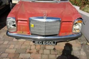 w114 1972 Mercedes benz 250 RHD
