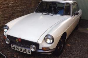 MGB GT, 1974, Overdrive, White, Lovely Example and ready to be enjoyed