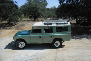Classic Land Rover 109 Diesel  Super 1984  4x4 5 Doors Power Stering 5 speeds