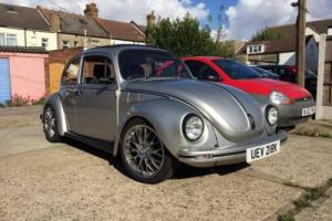 1972 Classic VW Beetle, Silver 1302 S