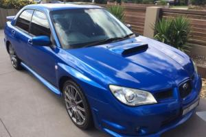 2006 MY07 Subaru WRX limited edition STI Tuned - number 1 of 200