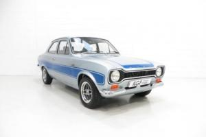 An Immensely Rare AVO Mk1 Ford Escort RS2000 Detailed to Perfection. Photo