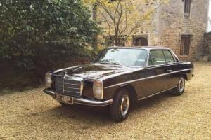 1975 MERCEDES BENZ 280CE AUTO BLACK W114 RHD RESTORED