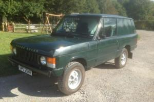 1976 R REG ROVER RANGE ROVER CLASSIC  2 DOOR GREEN 12 MONTH MOT Photo