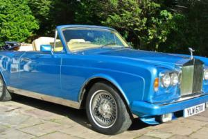 "1981 ROLLS ROYCE  CORNICHE II CONVERTIBLE "" HOOPER "" Photo"