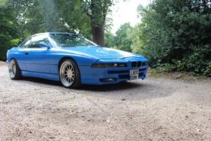BMW 850CI V12 1994 BLUE HARTGE WHEELS