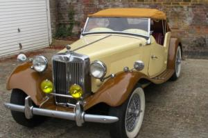 1953 MG TD British Sports Car (RHD). Photo