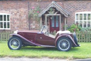 1947 MG TC Photo