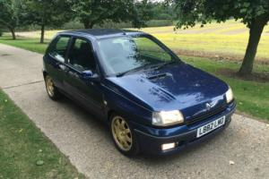 **STUNNING** 1993 RENAULT CLIO WILLIAMS 1 **SUPER RARE**HUGE HISTORY**NEW MOT**