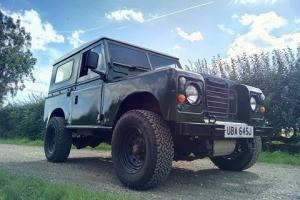 "LANDROVER SERIES 2A 1971 88"" TAX EXEMPT PERKINS TURBO DIESEL"