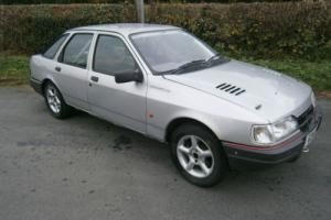 ford sierra night rally car. big spec