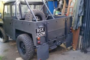 landrover lightweight (tax exempt )