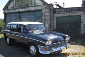1961 HUMBER SNIPE ESTATE DARK BLUE /WHITE Photo