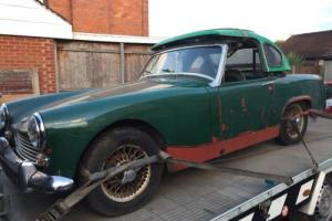 Austin Healey sprite / midget restoration project barnfind hill climb classic Photo