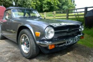 Triumph TR6 LHD in excellent mechanical & cosmetic condition £10,500 no offers