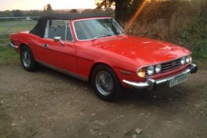 Triumph Stag Mk 2 1976 - Triumph V8 Convertible Photo