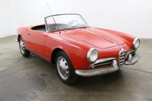 1958 Alfa Romeo Other Spider